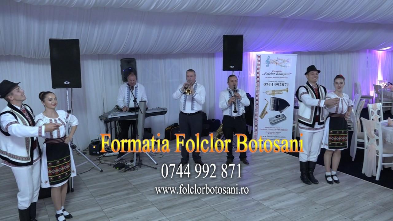 Formația Folclor Botoșani Colaj de joc la Cort Daide ROMAN