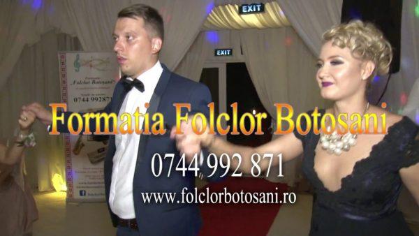Formația Folclor Botoșani - nunta live cort baisa Constantine